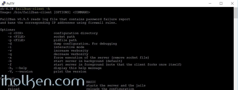 Check Fail2ban install