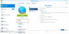 Enable Synology Web Station