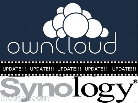 Update Owncloud in Synology